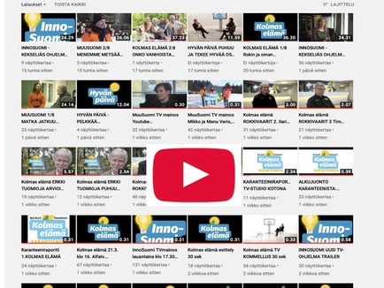 MAKSUTON YOUTUBE TV-KANAVA AVATTU