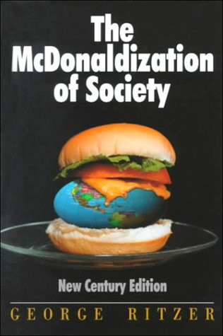 Mcdonalzation Ritzerin kiRJA