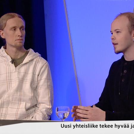 Jaako Blomberg ja Eetu  Pesu