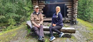 Petri Pajunen ja Katja Noponen