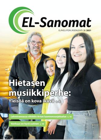 EL-SANOMAT SELOSTAA LAAJASTI ELÄKKEELTÄ TÖIHIN JA KOLMAS ELÄMÄ PROSESSIA