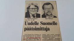 Uuteen Suomeen 1981