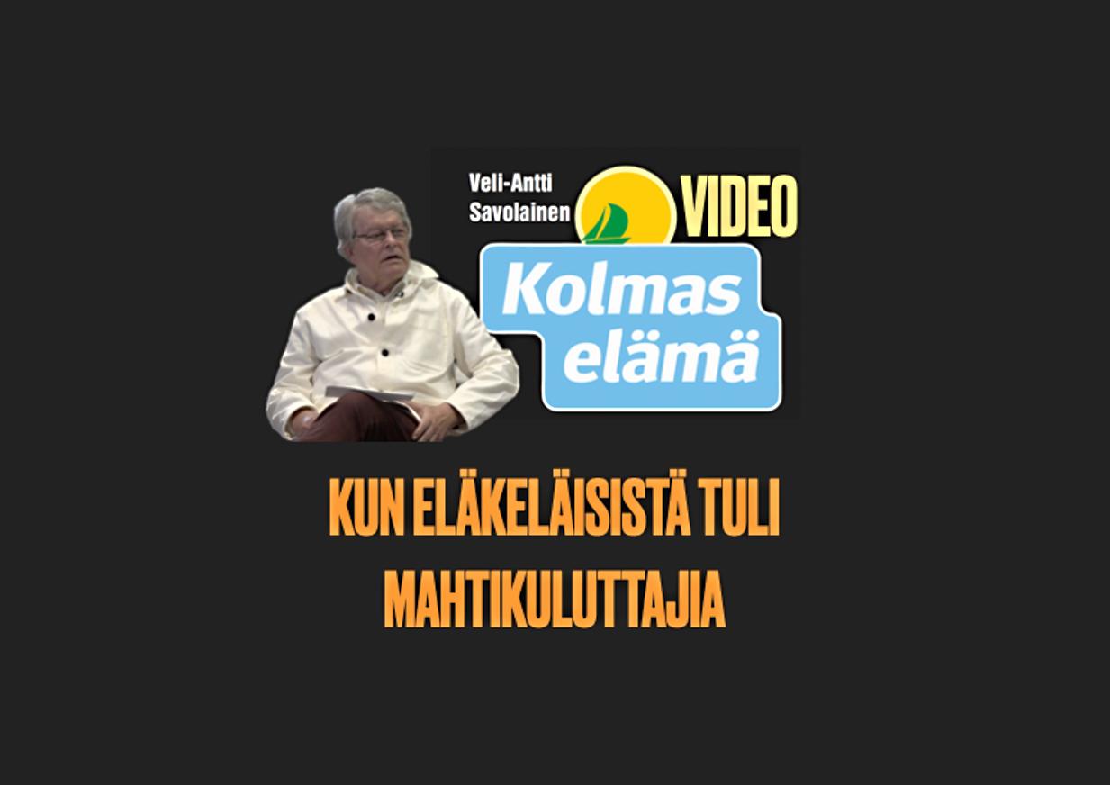 38/100. VIDEO: MEISTÄ TULI SUURI KULUTTAJAPOLVI