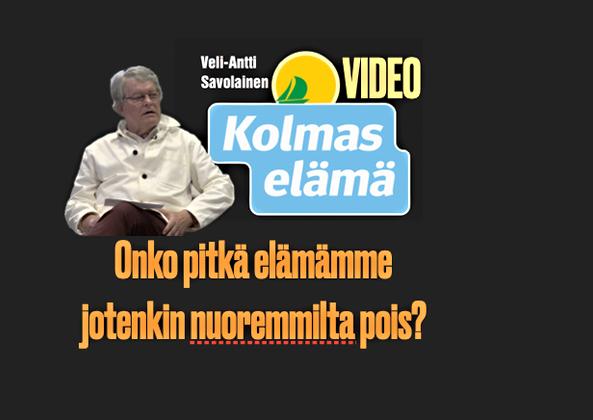 11/100 VIDEO. ONKO PITKÄ IKÄ NUOREMMILTA POIS?