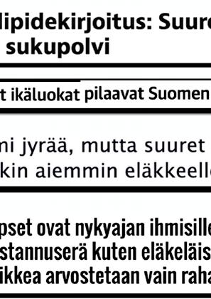 17/100. IKÄSYRJINTÄ JA VASTAKKAINASETTELU
