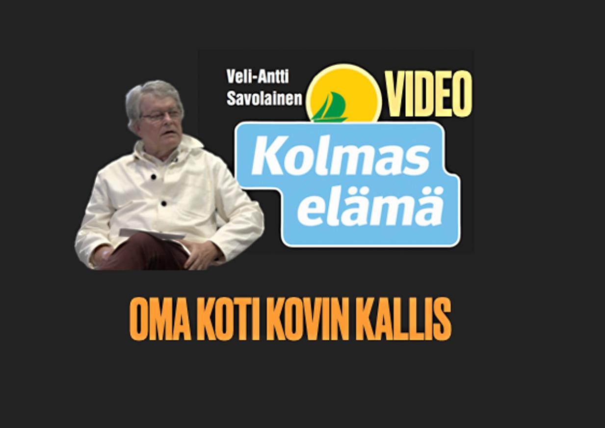 39/100. VIDEO: ASUNTOVARALLISUUS ON RIKKAUTEMME SYY