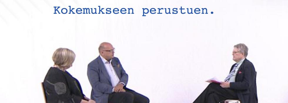Kari Hiltusen kanssa puhutaan työstä