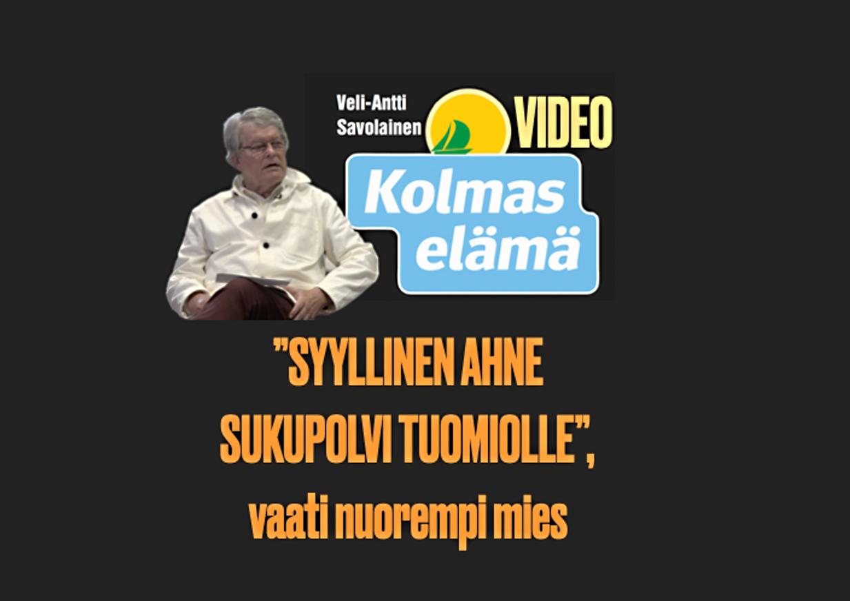 18/100, VIDEO. SYYLLINEN, SUKUPOLVI SAI LUNTA TUPAAN OSKULTA