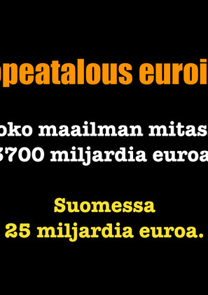 33/100. HOPEATALOUS ON ISO MAHDOLLISUUS