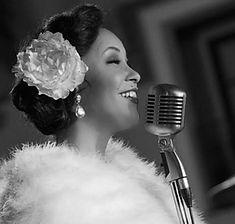 Glamorous Jazz Singer