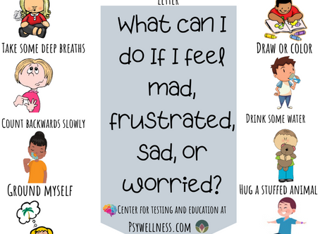 What Can I Do When I Feel....