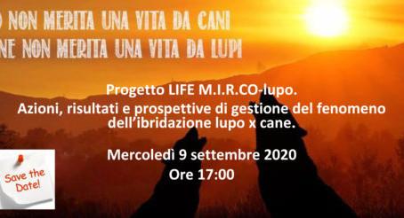 Progetto LIFE M.I.R.CO.-Lupo: risultati e considerazioni
