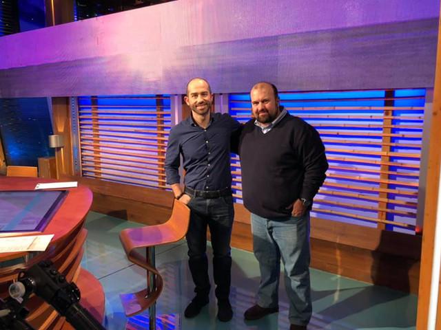 Marco Mastrorilli e Emanuele Biggi a Geo RAI 3