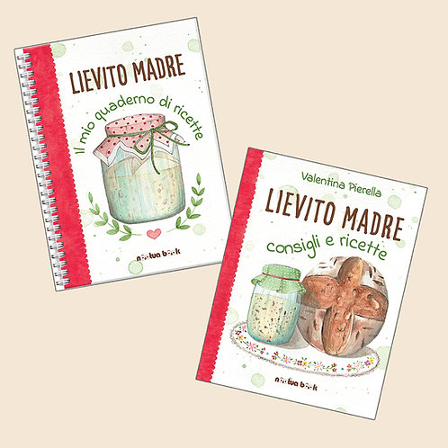 quaderno + libro --- Lievito Madre