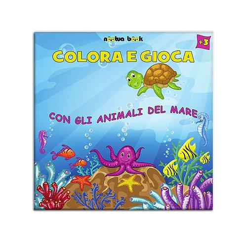 Colora e Gioca con gli animali del mare