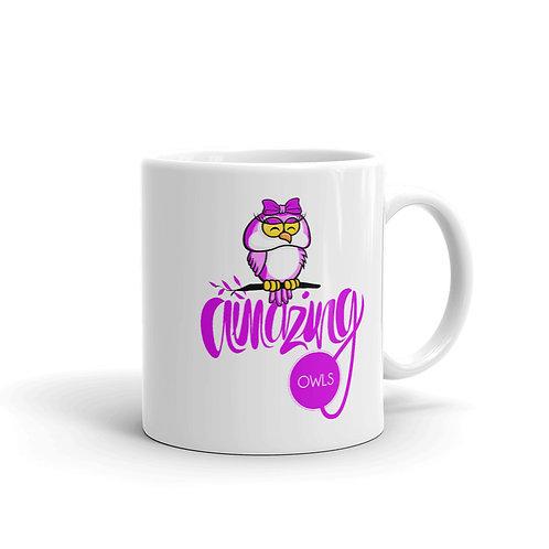 MG12 -Mug amazing owls