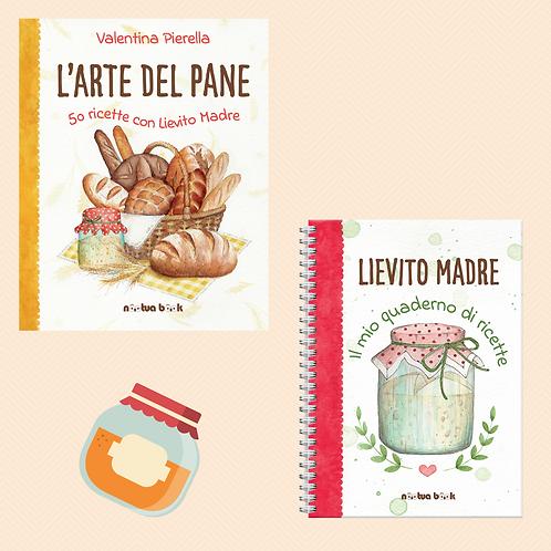 L'Arte del Pane +quaderno di ricette Lievito Madre