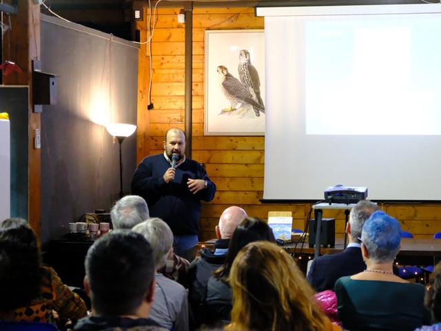 Conferenza presso la sede Lipu di Ostia