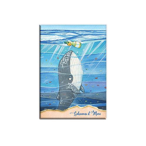 Taccuino - Salviamo il mare - Balena