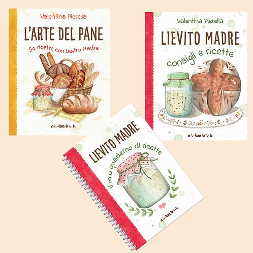 L'Arte del Pane + Lievito Madre --- libro e quaderno
