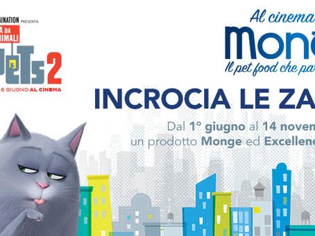 Pets2: al cinema con Monge!