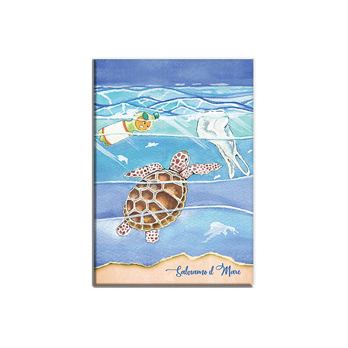 Taccuino - Salviamo il mare - Tartaruga