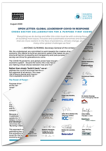 Global Leadership COVID 19 Response Lett