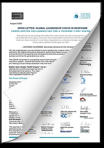 Global Leadership COVID 19 Response Lett