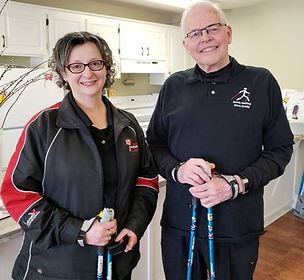 Bill & Esther VanGorder, Nordic Walking