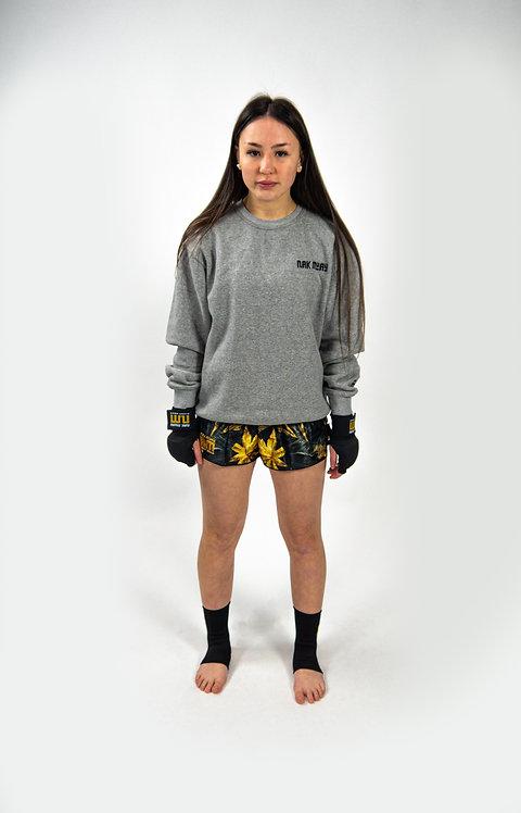 Nak Muay sweatshirt grey