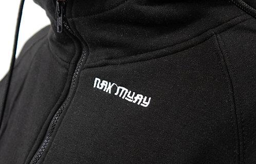 Nak Muay black adults hoodie