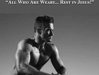 """""""All Who are Weary... Rest in Jesus!"""" - Matthew 11 Blog"""