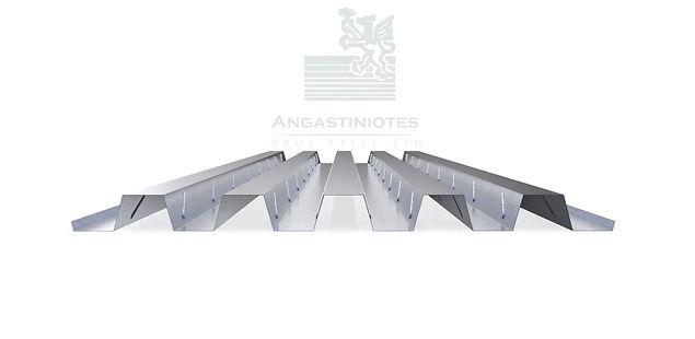 Composite Floor Decking Concrete AD55 Angastiniotes