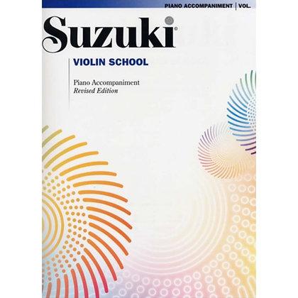 Suzuki fiolin (piano akkompagnement)