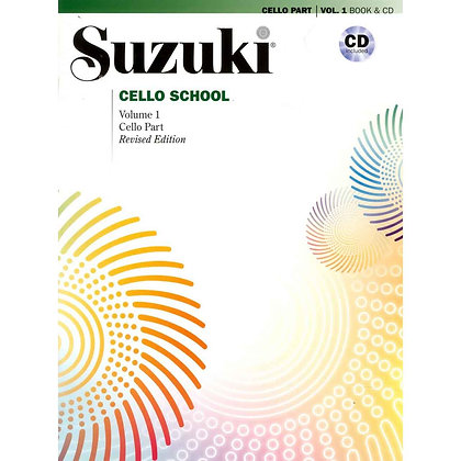 Suzuki Cello School (lærebok og CD)