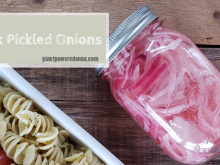 Quick Pickled Onions [v/gf]