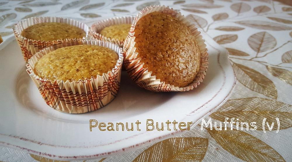 PB muffins vegan