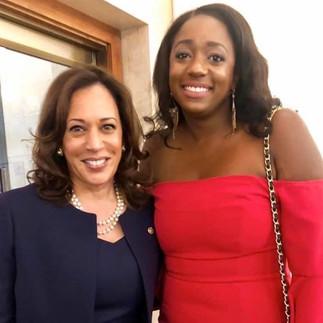 Rep Lamar and VP Kamala Harris