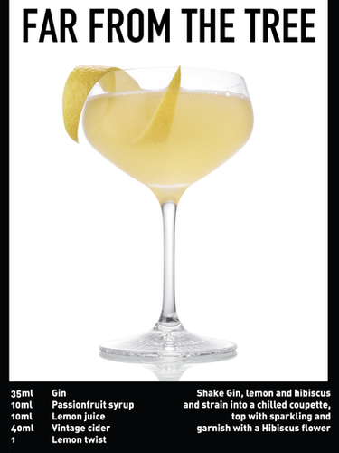 SS website Cocktail spec - Far from the