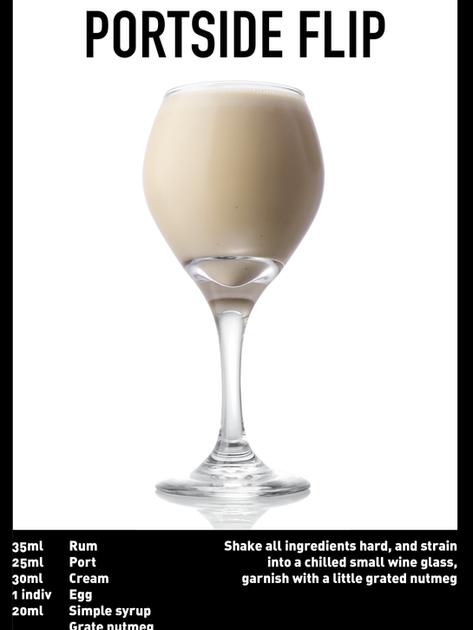 SS website Cocktail spec - Portside Flip