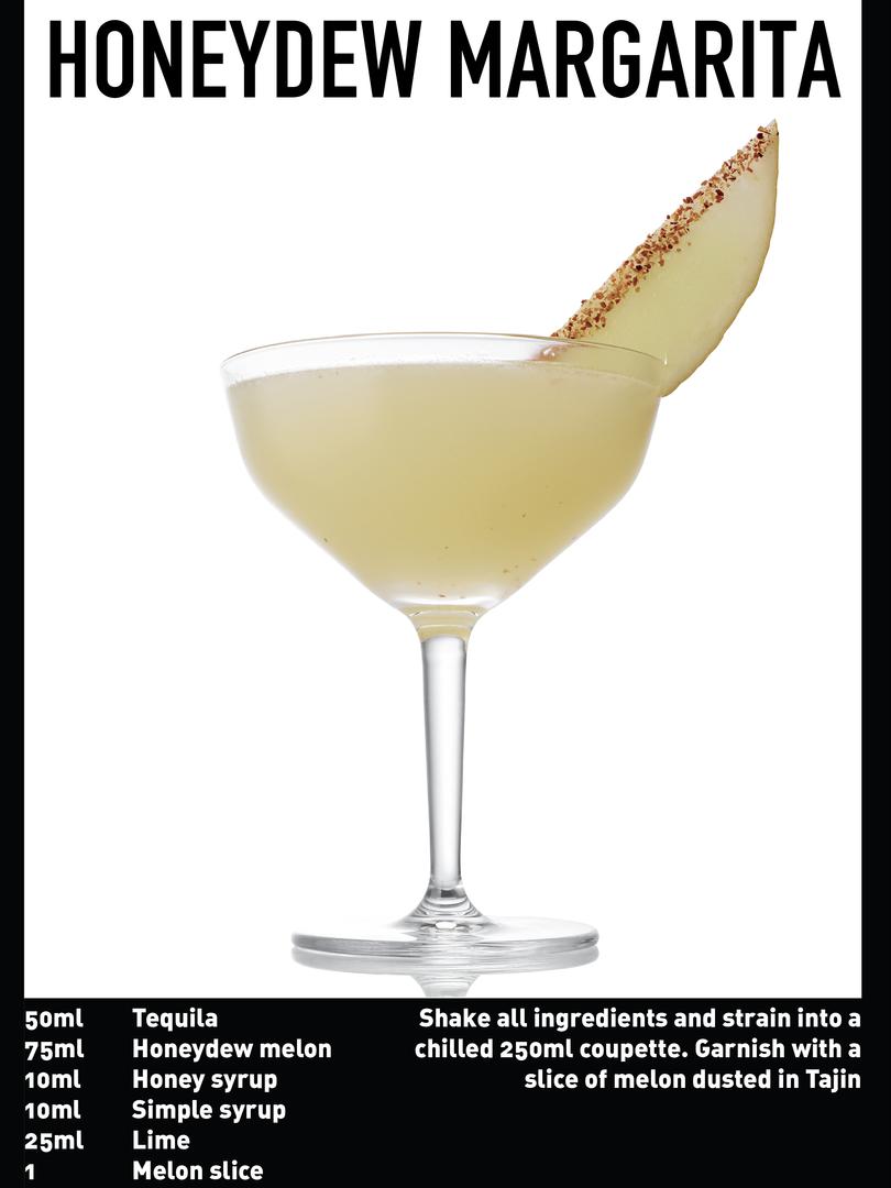 SS website Cocktail spec - Honeydew marg
