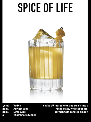 SS website Cocktail spec - spice of life