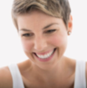 Smiling woman - anti-ageing treatments