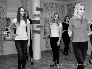 Princess of Estonia 2016 - catwalk trainings