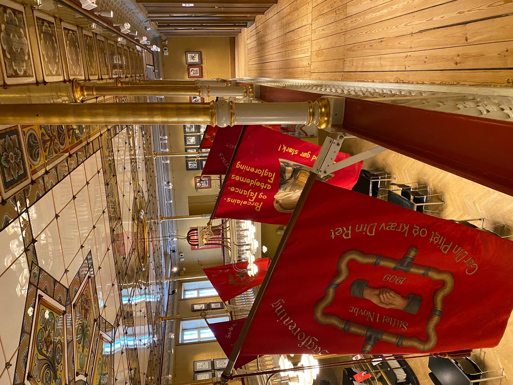 Arbejdermuseet, Festsalen