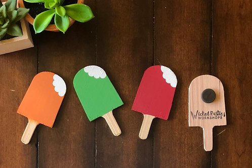 Popsicle Magnets (3 Pack)