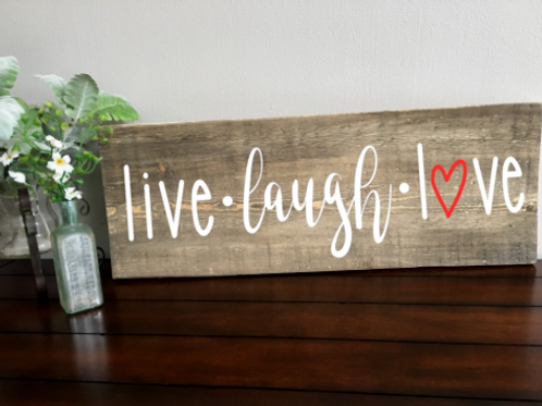 Live, Laugh, Love 8x20