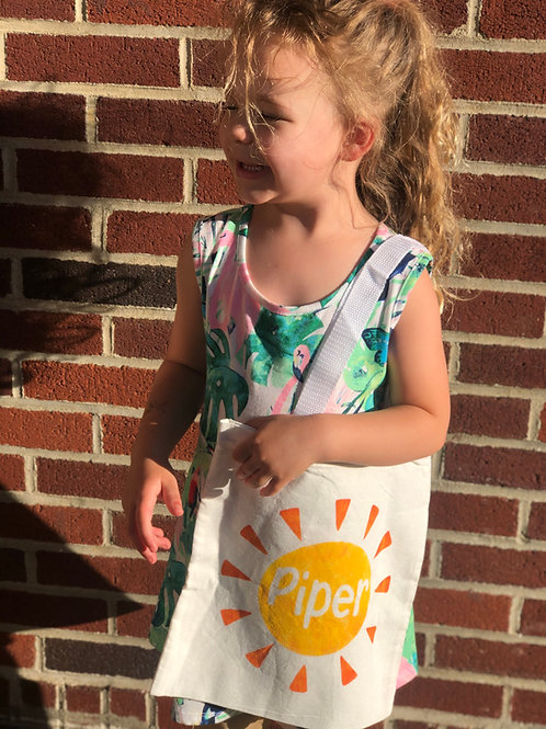 Sunshine Name DIY Canvas Bag