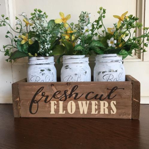 Fresh Cut Flowers Flower Box