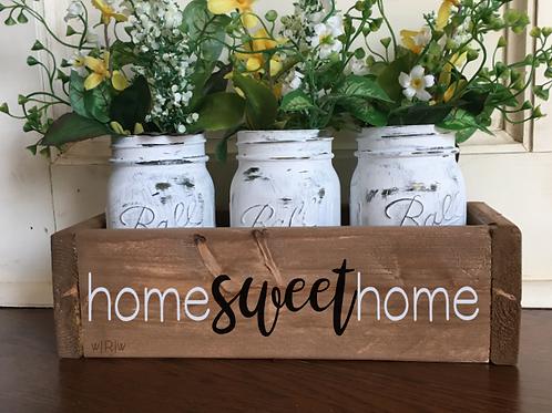 Home Sweet Home Flower Box
